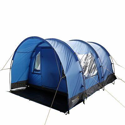 Regatta Equipment Karuna 4 Man Tunnel Tent Blue