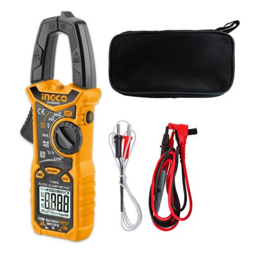 INGCO Digital Clamp Meter AC DC Volt Current Resistance Capacitance Diode Test