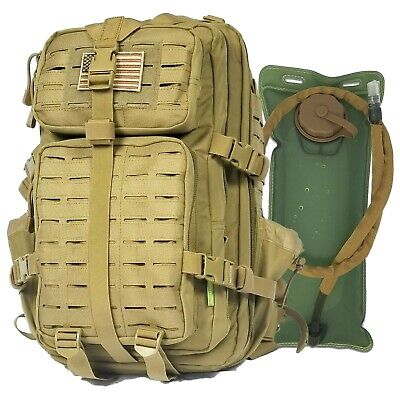 Gearrific Tactical Backpack with Hydration Bladder Combo - 4