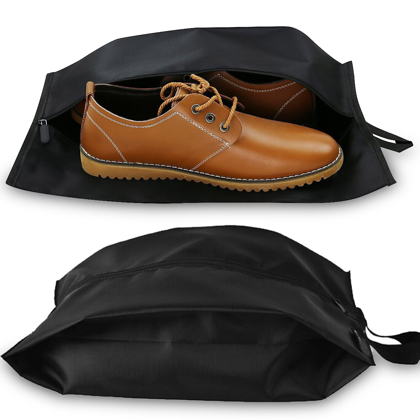 Unisex Quality Nylon Shoe Tote Bags with Heavy Duty Zipper F