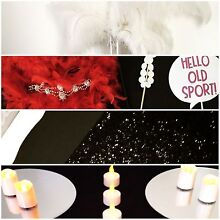 GATSBY PARTY PACK - Glassware, ostrich feathers, props & more! Gawler South Gawler Area Preview