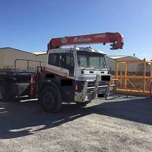 Semi Trailer, Truck with Crane Largs Bay Port Adelaide Area Preview