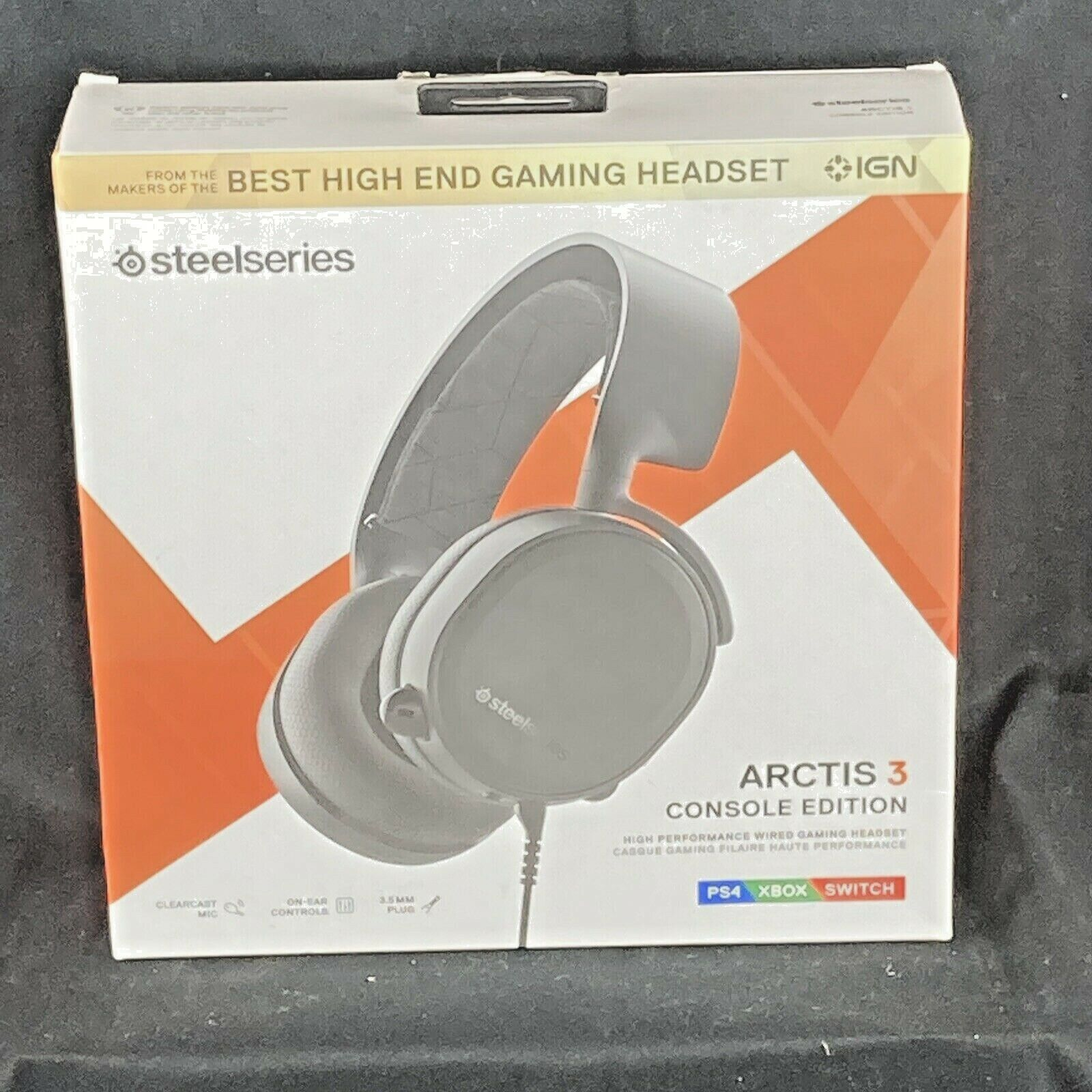 New SteelSeries Arctis 3 Stereo Gaming Headset  - $69.85