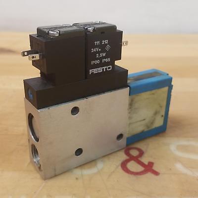 Festo Vad-me-i-38 Vacuum Generator 1.58bar 22116psi 35533 - Used