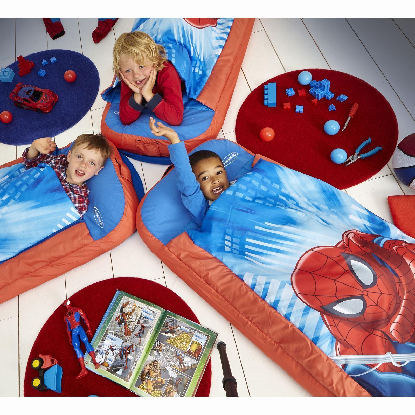 Spiderman per bambini gonfiabile ready letto nuovo - Sacco letto per bambini ...