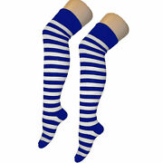 Striped Over The Knee Socks