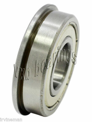 Flanged Hybrid Ceramic Miniature Ball Bearings 14x 12x 732 Inch 0.250 Id