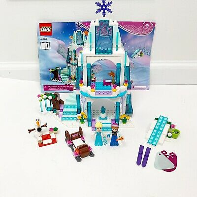 Lego 41062 Disney Frozen Princess Elsa's Sparkling Ice Castle Complete W/ Manual