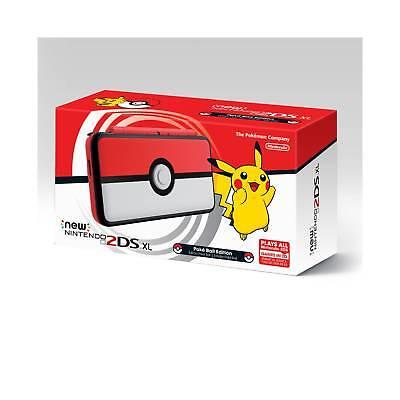 New Nintendo 2Ds Xl Pok  233  Ball Edition