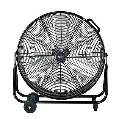 "Comfort Zone CZMC24 HBCLCZMC24 Industrial Drum Fan, 24"" Barr"