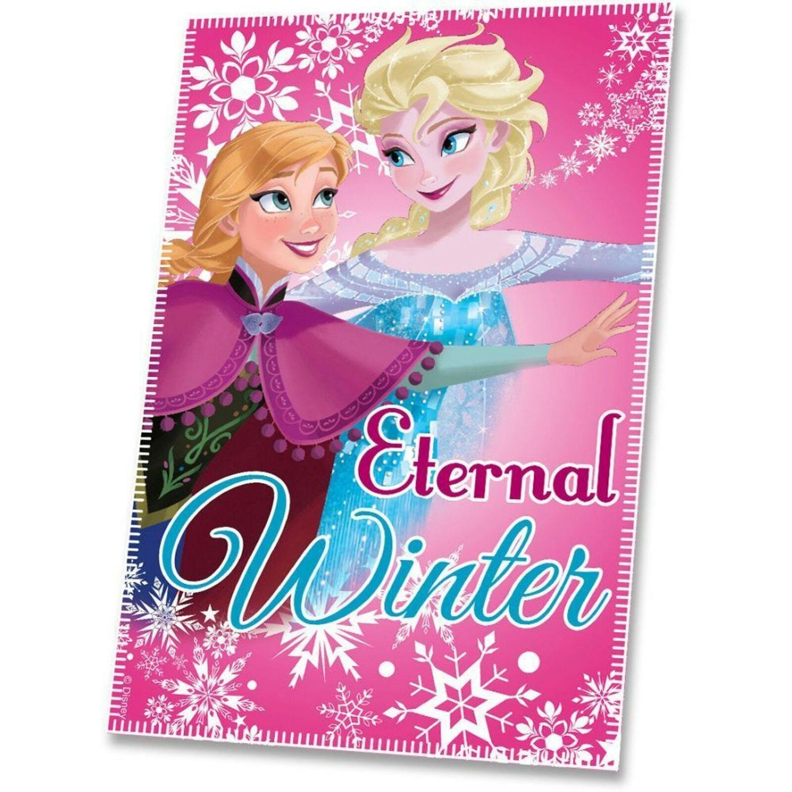 Disney Frozen Fleecedecke Kuscheldecke 100 x 150 Eiskönigin Tagesdecke NEU