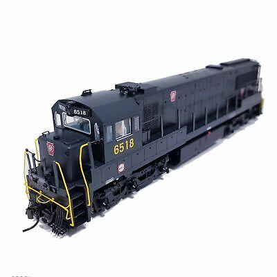 Korea Brass HO 1/87 Scale GE U25C U252020 PRR #6518 DC only Detailed Model Train