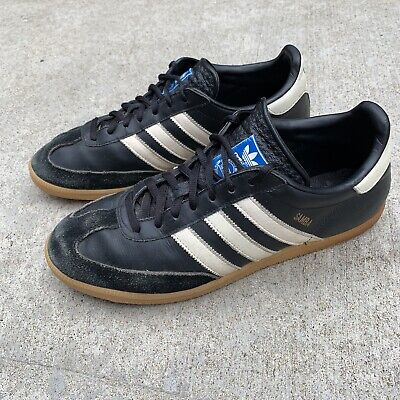 a83867f101c5 Vintage Adidas Samba Classic Used Indoor Soccer Shoes Mens Sz 12 Made In  Germany