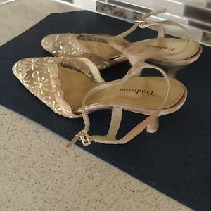 Open Back Shoes With Ankle Strap