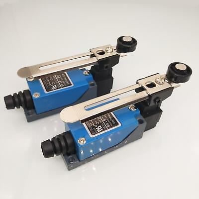 2x Waterproof Me-8108 Momentary Ac Adjustable Limit Switch Cnc Mill Laser Plasma