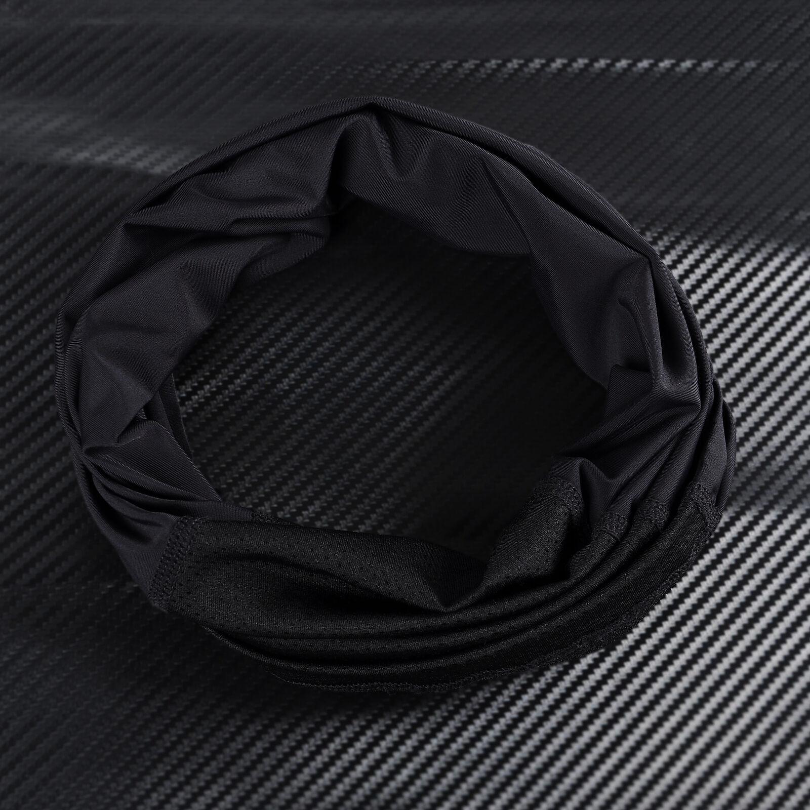 Summer Thin Breathable Drawstring Face Mask Neck Gaiter Tube Scarf Bandana US Clothing, Shoes & Accessories