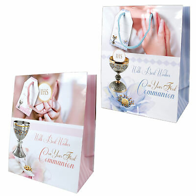 Religious Occasion Gift Bag - First Holy Communion - 23x18cm - Choose