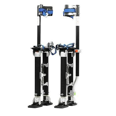 Pentagon Tool Mag Pros Magnesium 18-30 Black Drywall Stilts Highest Quality