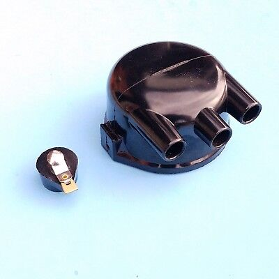 John Deere 2-cylinder Distributor Cap And Rotor Fits Delco 1111558
