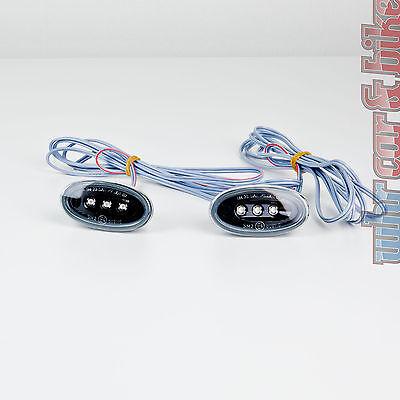 2 Stück Hella LED Seitenmarkierungsleuchten SML schwarz Begrenzungsleuchten