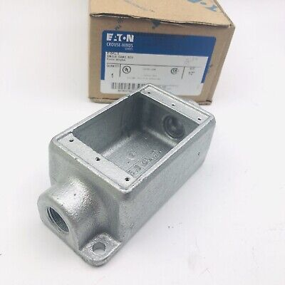 Crouse Hinds Fsc1 Cast Device Boxes 12 Condulet Series Single Gang