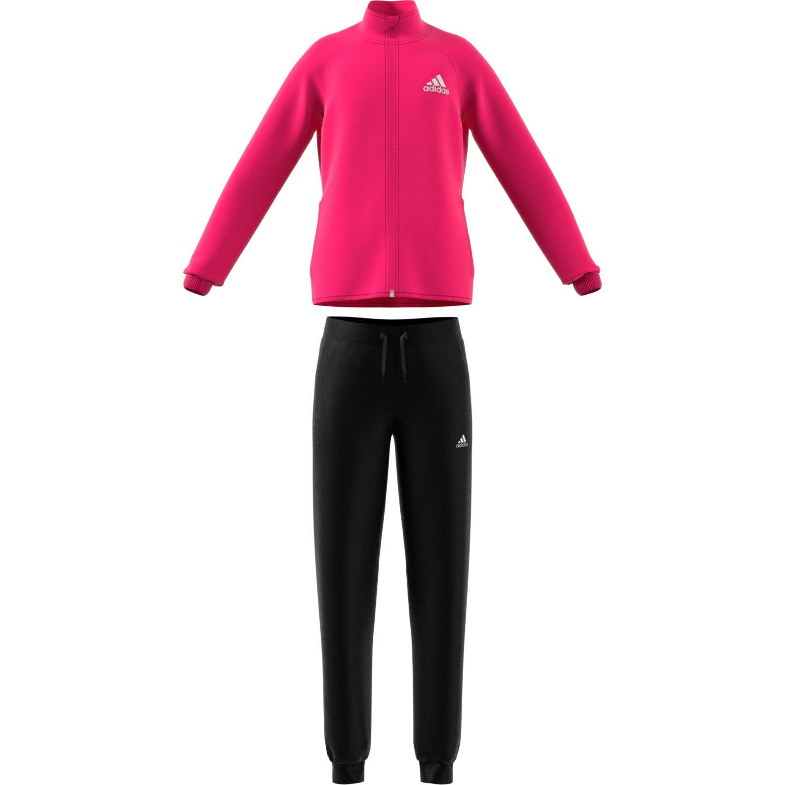adidas Mädchen Trainingsanzug YG S Entry Sportanzug DM1402