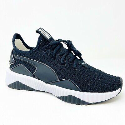 Puma Defy Black White 191949 01 Womens Trainer Casual Sneakers