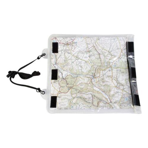 Highlander Roamer Map Case Clear transparent Cover with neck strap 32.5 x 27 cm