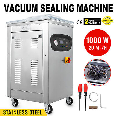DZ-400S Automatic Vacuum Packing Sealing Sealer Machine 110V Storage Chamber