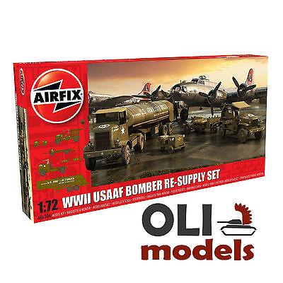 1/72 WWII USAAF Bomber Re-Supply Set Autocar/Chevrolet M6/Cushman - Airfix 6304