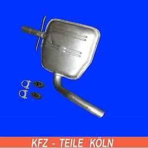 VW-GOLF-3-1-9-D-FAMILIARE-Marmitta-centrale-Scarico-Silenziatore