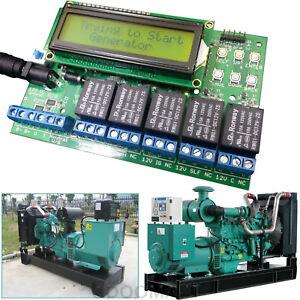 ATS Automatic Transfer Switch Mains & Generator Controller Start/Stop Generator