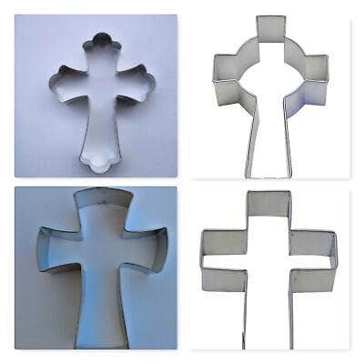 Cross Cookie Cutters (Cross Fancy Celtic Cookie Cutter  Religious Christ Symbol)