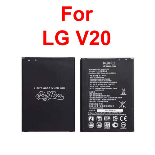 New Battery LG BL-44E1F For LG V20 Stylo 3 H910 H918 V995 LS997 Replacement A+