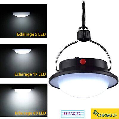 Lámpara de Camping 60 LED Luces Exterior Farol de Camping Linterna Portátiles