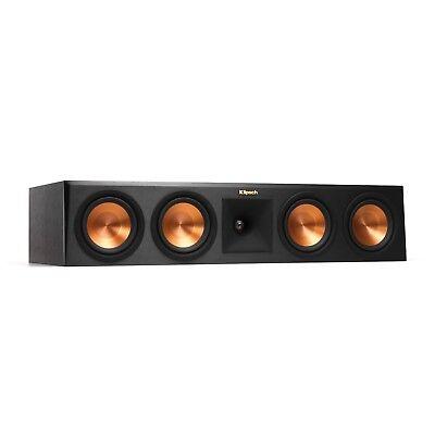 Open Box   Klipsch Rp 450C Center Channel Speaker   Ebony   1 Speaker Only