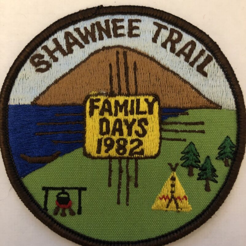 Royal Rangers Patch 1982 Shawnee Trail Family Days Canoe Lake Forest