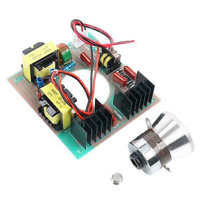 60w 40khz Ultrasonic Cleaning Transducer Cleanerpower Driver Board 110v Us Ship