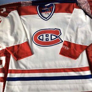 Henri Richard, Koivu, Zednik signed Montreal Canadiens jerseys
