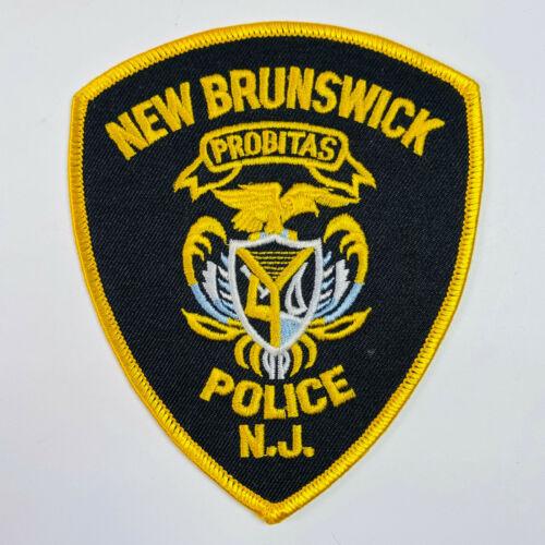 New Brunswick Police New Jersey Patch