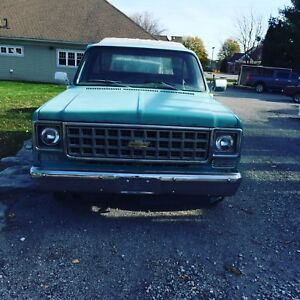1976 Chevy c10 project
