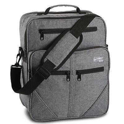 Flugumhänger SOUTHWEST Arbeitstasche Herrentasche Handgepäck Tasche Grau 15L