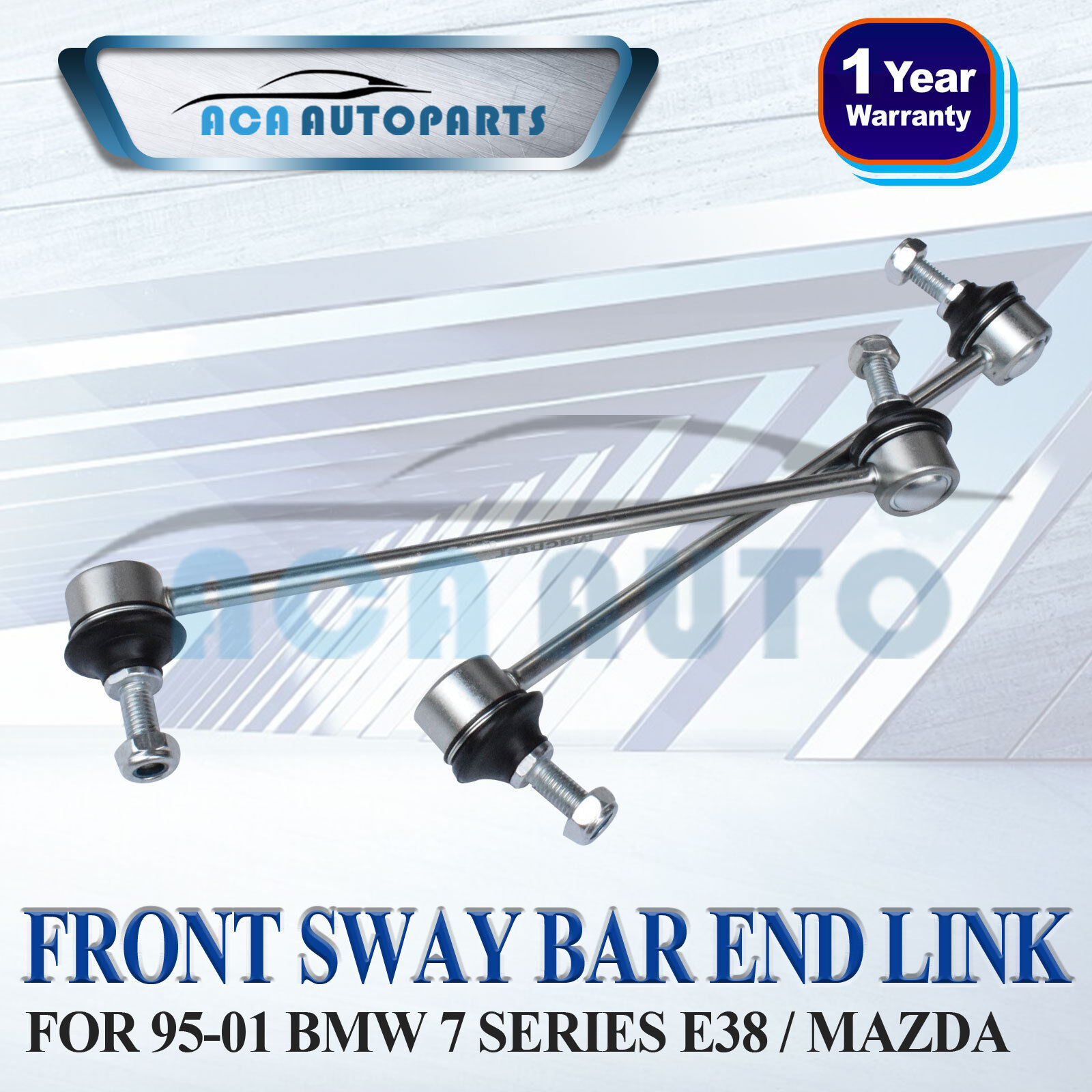 Front Sway Bar End Link Suspension Pair Set For 95-01 BMW
