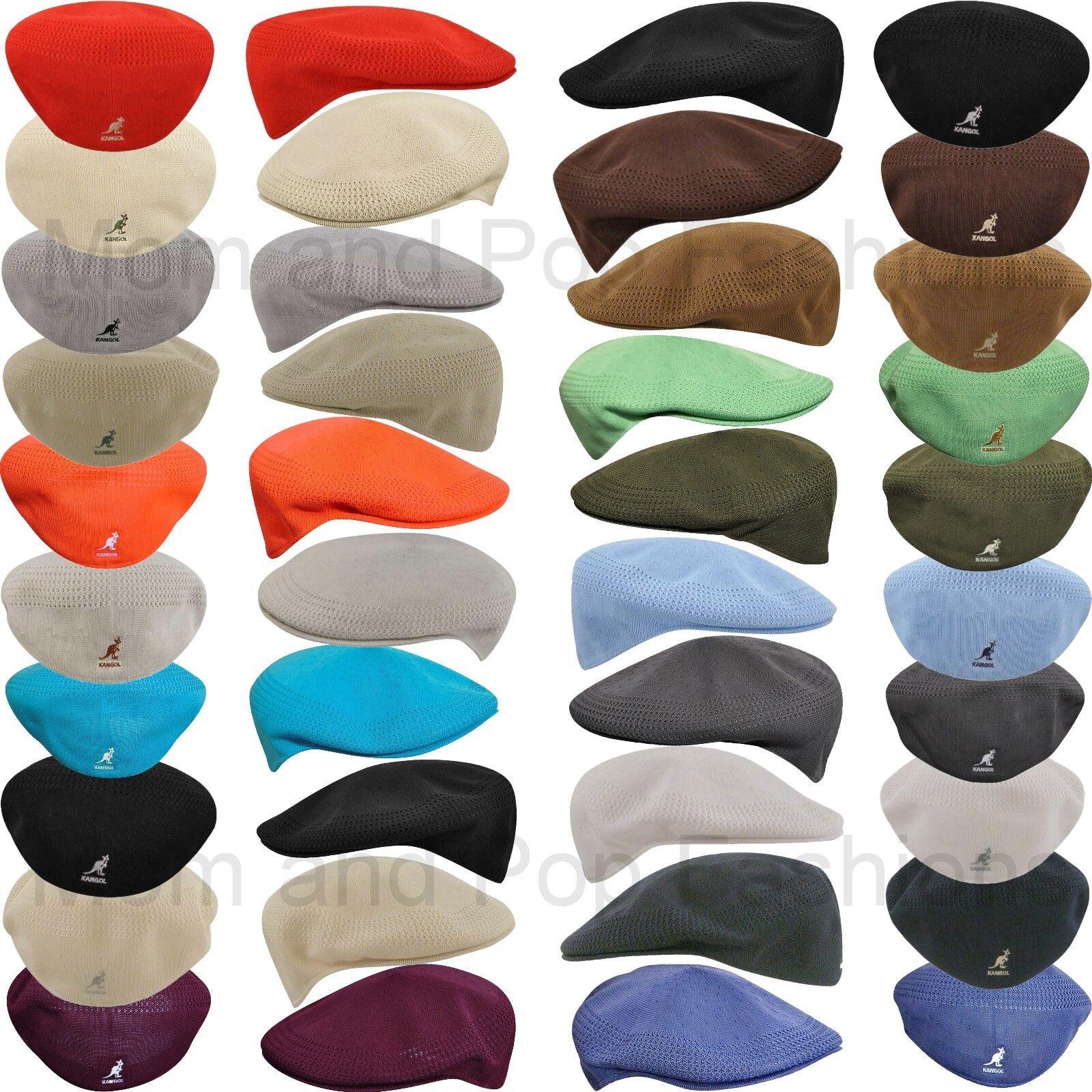 4dc8ec4460f KANGOL Hat 504 Tropic Ventair Summer Flat Cap 0290BC Biscuit Size S - XL