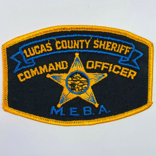 Lucas County Sheriff Command Officer MEBA Ohio OH Patch (A6)