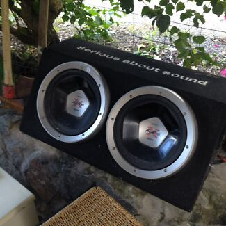 Sony explod duel  subwoofers