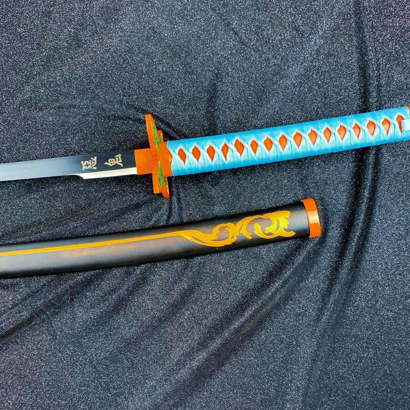Kanae Kocho Butterfly Nichirin Sword Steel Replica Katana from Demon Slayer