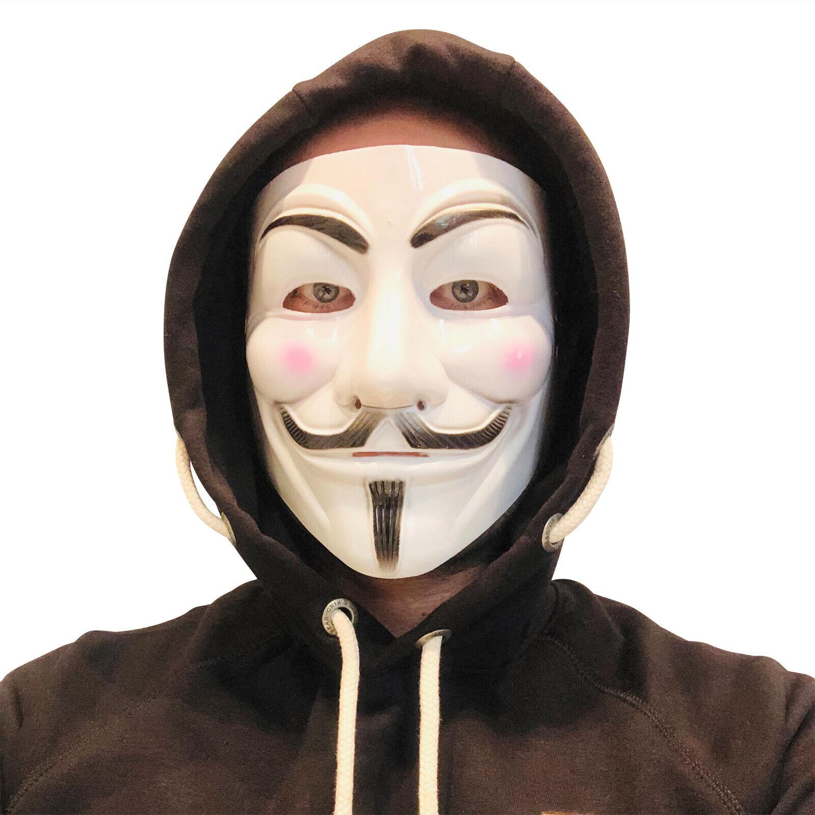 Maske Vendetta Halloween Anonymous Maske für Fasching Karneval Horror Partys