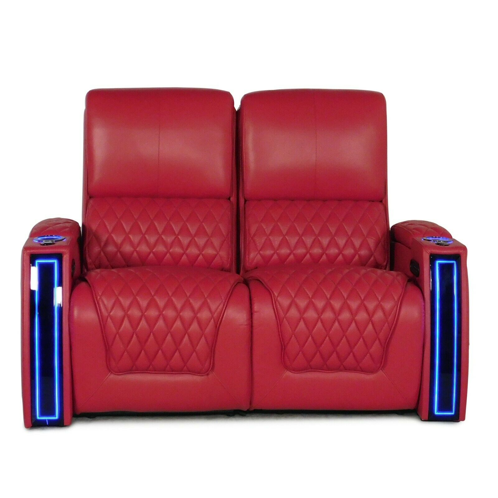 Seatcraft Apex Red Leather Home Theater Seating Chairs Loves