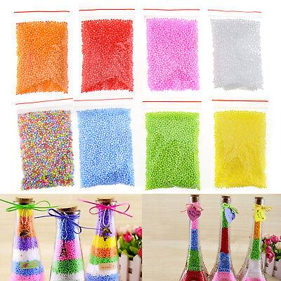 8 Packs DIY Styrofoam Balls Bubble ball Slime Foam Beads for Floam Filler Toys - Styrofoam Beads